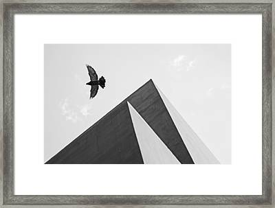 The Pyramids Of Love And Tranquility Framed Print