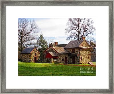 The Quaker's House Framed Print by Christina Zettner