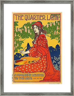 The Quarter Latin Framed Print by Mountain Dreams
