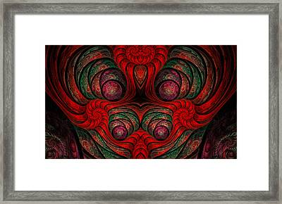 The Queen Abstract Framed Print