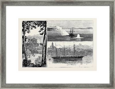 The Queen At Mentone 1. The Monastery Of The Annunciation Framed Print by English School