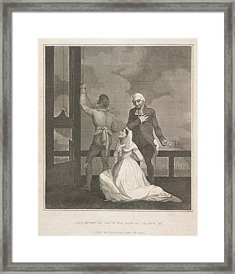 The Queen Of Louis Xvi Framed Print by British Library