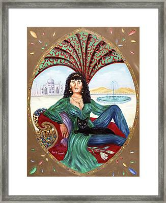The Queen Of Sheba Framed Print