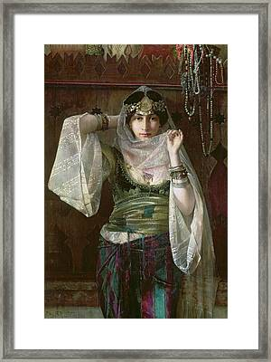 The Queen Of The Harem Framed Print
