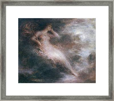 The Queen Of The Night Framed Print by Ignace Henri Jean Fantin-Latour
