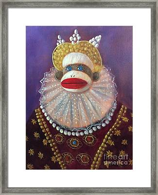 The Proud Queen Framed Print by Randy Burns