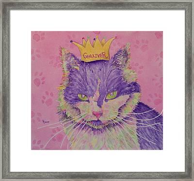 The Queen Framed Print by Rhonda Leonard