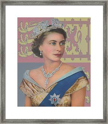 Framed Print featuring the photograph The Queen by Roy  McPeak