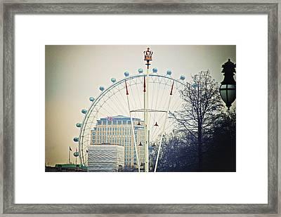 The Queen's Eye Framed Print by Christi Kraft