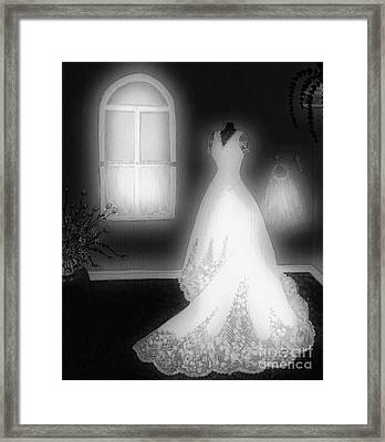 The Question Framed Print by Barbara Griffin