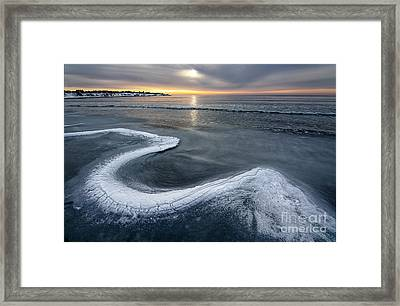 The Quick Pullover Framed Print