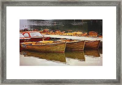 The Quiet Before The Storm Framed Print by Wobblymol Davis