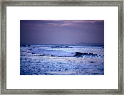 The Quiet Deep Framed Print by Amanda Holmes Tzafrir