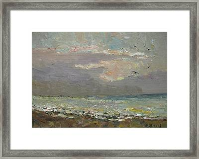 The Quiet Evening Framed Print