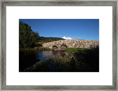 The Quiet Man Bridge Near Oughterard Framed Print by Panoramic Images