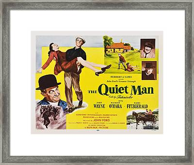 The Quiet Man, From Lower Left Barry Framed Print by Everett