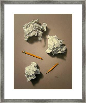 The Quiet Muse Framed Print by Timothy Jones