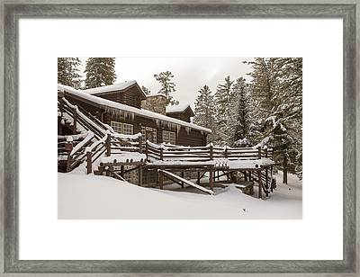 The Quiet Of Winter Framed Print by Tim Grams