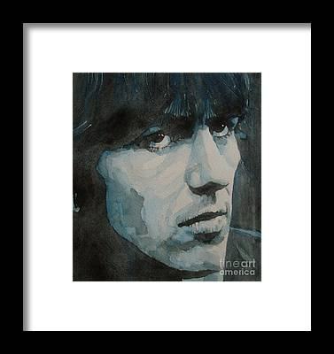 George Harrison Framed Prints