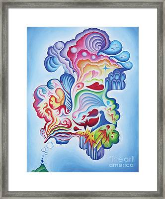 The Quiet One Framed Print by Tiffany Davis-Rustam