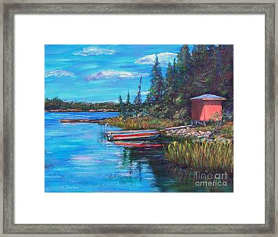 The Quiet Place Framed Print by Li Newton