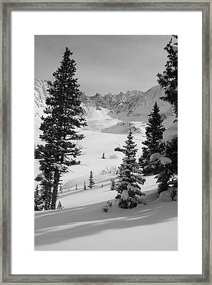 The Quiet Season Framed Print by Eric Glaser
