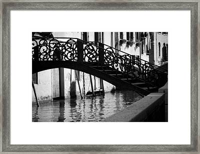 The Quiet - Venice Framed Print