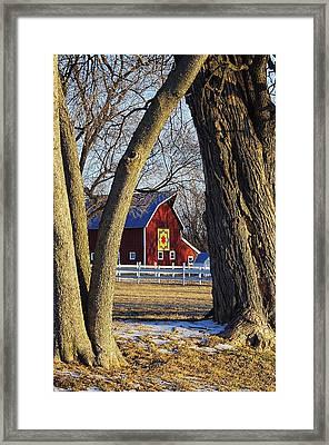 The Quilt Barn Framed Print