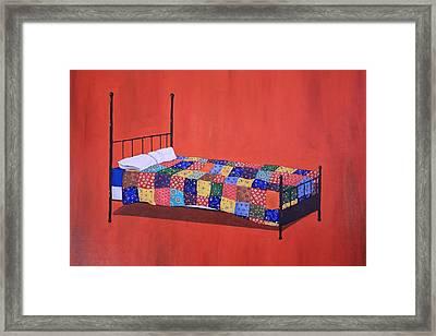 The Quilt Framed Print
