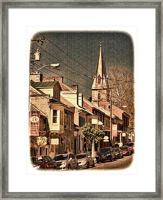 The Quintessential Semiquincentennial - Shepherdstown Wv  Framed Print