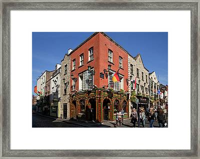 The Quys, Tiled Victorian Pub, Temple Framed Print by Panoramic Images
