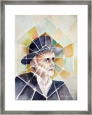 The Rabbi Framed Print