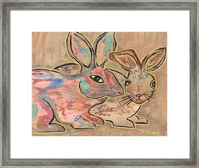 The Rabbit Hole  Framed Print by Tish Eggleston