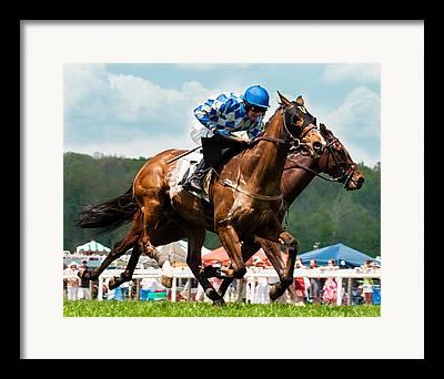Mr Horsepower Framed Prints