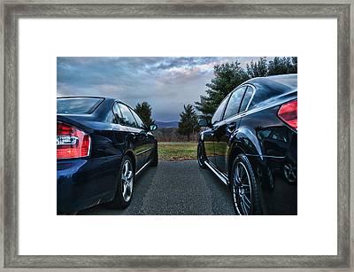 The Race Framed Print by Ryan Crane