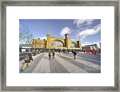 The Race To The North Framed Print by Rob Hawkins
