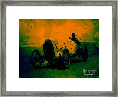 The Racer - 20130207 Framed Print by Wingsdomain Art and Photography