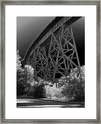 The Rail Framed Print