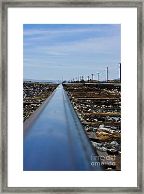 The Railway Framed Print by Scott Laffin
