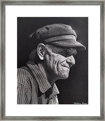 The Railwayman Framed Print by Wallaroo Images