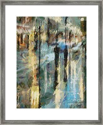 The Rain In Paris Framed Print