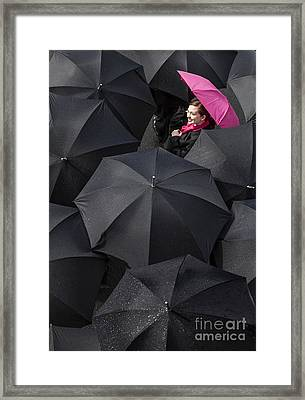 The Rain Is Over Framed Print by Diane Diederich