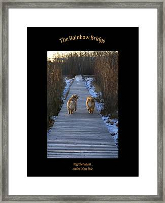 The Rainbow Bridge Framed Print