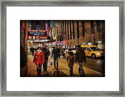 The Rainbow Room Framed Print by Lee Dos Santos