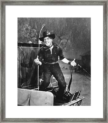 The Rainmaker, Burt Lancaster, 1956 Framed Print