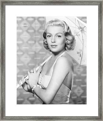 The Rains Of Ranchipur, Lana Turner Framed Print by Everett