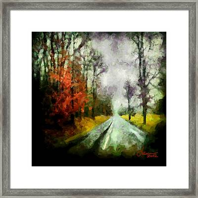 The Rainy Days Of Summer Framed Print