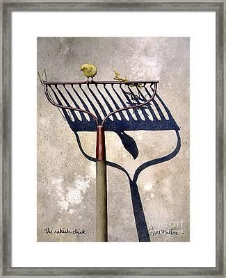 The Rakish Chick ... Framed Print by Will Bullas