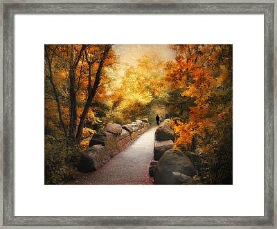 The Ramble Framed Print by Jessica Jenney