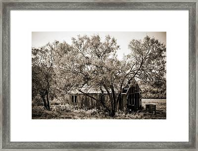 The Ranch  Framed Print by Amber Kresge